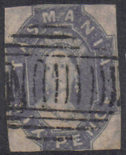 Australia - Tasmania 1863 6d Six pence Grey-violet SG 46 used