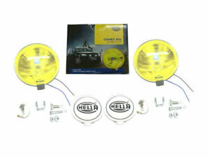 PAIR OF HELLA COMET 500 YELLOW 12V H3 DRIVING LAMP FOR JEEP, TRUCKS, 4x4, SUV