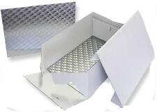 "PME Oblong Cake Baking Box & Support Card Board 355 x 254mm (14"" x 10"" Inch )"