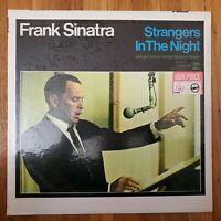 FRANK SINATRA STRANGERS IN THE NIGHT 1966 VG+ Vinyl Lp NM Shrink-wrap Cover