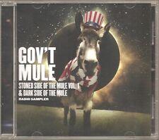 """GOV`T MULE """"Stoned Side Of The Mule Vol.1 & Dark Side Of The Mule"""" Promo CD"""