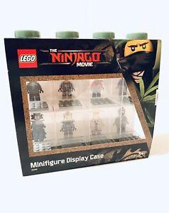 Lego The Ninjago Movie Minifigure 8 Compartment Display Case 4065 New
