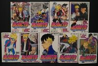 JAPAN manga LOT: Boruto -Naruto Next Generations- vol.1~9 Set