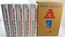 THE POEM OF THE MAN-GOD Maria Valtorta All 5 Volumes Set + Slipcase AS NEW