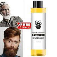 1pc 30ml 100% Organic Beard Oil Hair loss Products Spray Beard Growth Oil 2020