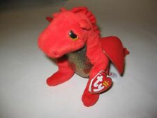 TY Beanie Baby - LEGEND the Red Dragon (6 inch) - with tag Stuffed Animal Plush