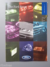 Sales Brochure, Ford Range 1996, Transit/Probe/Fiesta/Mondeo/Galaxy/Explorer
