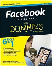 Facebook All-In-One for Dummies by Jamie Crager, Melanie Nelson, Daniel Herndon