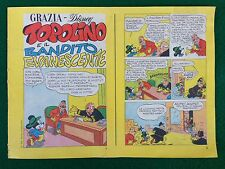Grace Disney N.4/1974 - Topolino E die Räuber Flüchtig Annex A Grace