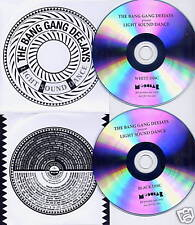 BANG GANG DEEJAYS Light Sound Dance UK DJ PROMO 2 x CD Modular