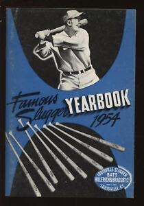 1954 Louisville Famous Sluggers Yearbook EXMT+