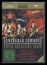 DVD LENINGRAD COWBOYS - TOTAL BALALAIKA SHOW - KONZERT *** NEU ***