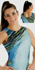 New listing NWT Y6 E3313 Dashing Diva Aly Raisman GK ™ gymnastics leotard Free Scrunchie CM
