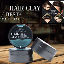 NEW Hair Gel Styling Clay Mud Men Strong Hold Matte Finish Molding Long Lasting