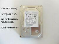 "HGST Hitachi 2TB 7.2K SAS 3.5"" Hard Drive 6Gb/s HUS723020ALS640 Server Storage"