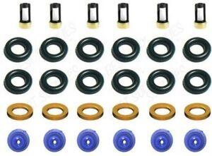 Fuel Injector Rebuild Repair Kit for 93-98 Ford 4.9L I6 3.8L V6 fits F1ZE-B4C