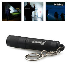 Portable Mini Q5 LED 15000LM Flashlight 3-MODES Keychain Keyring Hunting Torch