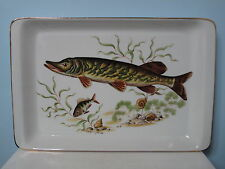 Hutschenreuther Novum Fisch Groß Platte 33,3 cm Servierplatte Fischplatte Teller