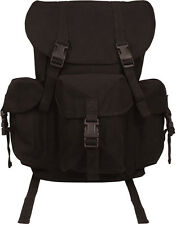 Black Canvas Outfitter Military Rucksack Backpack