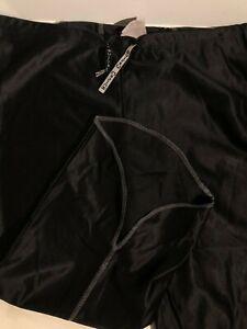 Pantaloni Donna Crunch Colore Nero Lucido Taglia S