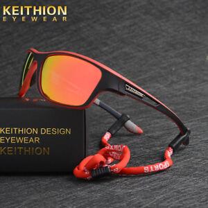 KEITHION Mens Sports Polarized Sunglasses Cycling Driving Fishing UV 400 Glasses