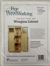Fine Woodworking Project Plan #25 WINEGLASS CABINET Intermediate Skill Level
