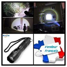 Lampe Torche LED XML-T6 Puissante Avec Zoom MIXXAR Militaire Tactique Police