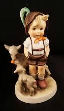 Signed Goebel Hummel Collectable Figurine - Little Goat Herder TMK 4