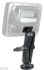 RAM Super-Duty Quick-Release Mount, Lowrance Elite-5 & Mark-5 Series Fishfinders