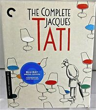 la COMPLETA JACQUES TATI Set CRITERION BLU-RAY BOX SET oct- '14) 6 PELICULAS
