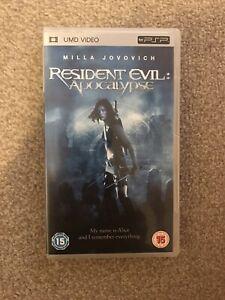 Resident Evil Apocalypse Sony PSP UMD Video Movie