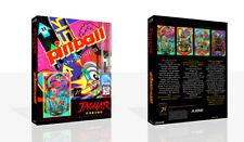 Flipper fantasmes Atari Jaguar Replacement Game Case + Housse art (NO GAME)