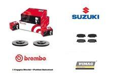 Dischi + Pastiglie Freno Anteriori Brembo Suzuki Jimny SN 1.3 16v 4WD 4x4