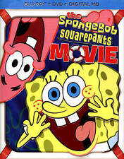 The Spongebob Squarepants Movie (Blu-ray Disc, 2014, 2-Disc Set)