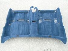 Teppich Boden Bodenbelag 1246802741 hinten blau Mercedes Benz W124 Limousine