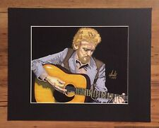Country Music Legend Keith Whitley 11x14 Matted Artist Signed Print Tony Keaton