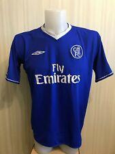 Chelsea London 2003/2004/2005 Home XL Umbro soccer shirt jersey maillot football