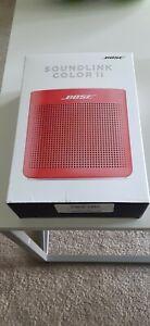 Bose SoundLink Color II Portable Bluetooth Speaker - Coral Red (752195-0400)