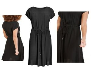 Womens NEXT Shift Dress Ladies Summer Beach Belt T-Shirt Office Dress Size 6-26