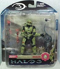 McFarlane Toys Halo 3 Spartan Soldier Rogue Action Figure Series 3 MIP