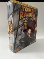 Tomb Raider Chronicles Big Box PC Trapezoid w/ Level Editor! Eidos CD-Rom 2000