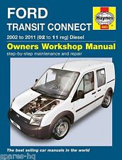 FORD Transit 2.5 Diesel/' 95 /'99 russek Workshop Manual