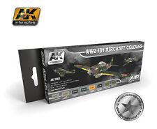 AK Interactive AKI 2060 - Air Series: WW2 IJN Aircraft Colors Paint Set