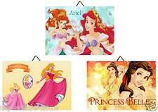 3 Cadres / Tableaux  chambre enfant Princesse Disney 01