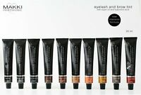 Makki Professional Intensive Eyelash & Eyebrow Tint Eye Lash Brow Dye 10 Colours