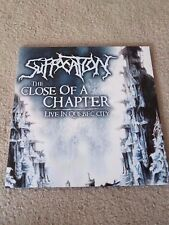 SUFFOCATION Close of a chapter ORIG. 2 LP obituary exodus deicide autopsy