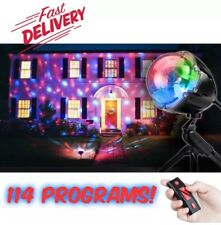 Christmas Points Of Light LED LightShow Projector w/Remote 14 Colors 114 Effects