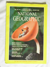 National Geographic Magazine January 1983 Rain Forests