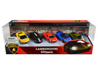 Lamborghini Giftpack 5 piece Set 1/64 Diecast Model Cars by Majorette