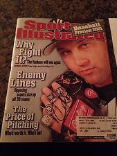 DEREK JETER Autographed Signed Sports Illustrated March 26,2001 PSA/DNA COA
